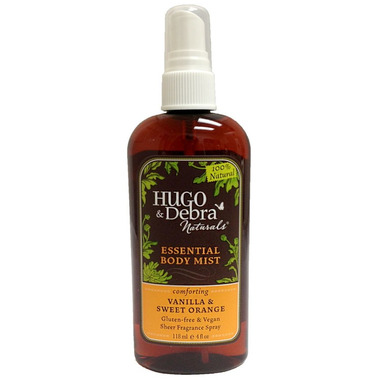 Hugo Naturals Comforting Vanilla & Sweet Orange Essential Mist