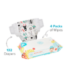 The Honest Company Size 6 Diapers & Wipes Bundle