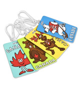 Maple Leaf Travel Novelty Canadian Luggage Tag