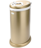 Ubbi Stainless Steel Diaper Pail Gold