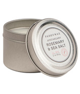 Paddywax Blue Apothecary Travel Tin Rosemary & Sea Salt Candle
