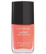 CoverGirl Outlast Stay Brilliant Nail Polish in Rose Gold