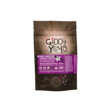 Giddy Yoyo Raw Ground Vanilla Bean