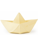 Oli and Carol Origami Boat Vanilla Yellow