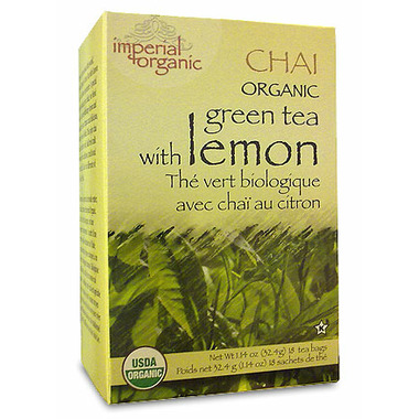 Uncle Lee\'s Imperial Organic Chai Green Tea With Lemon