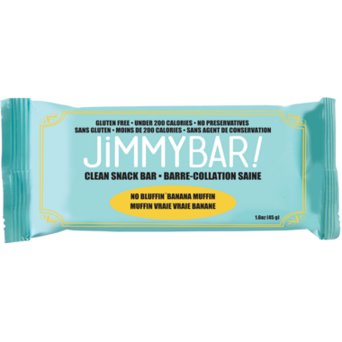 JimmyBars No Bluffin Banana Muffin
