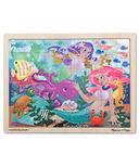 Melissa & Doug Mermaid Fantasea Wooden Jigsaw Puzzle