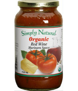 Simply Natural Organic Red Wine Marinara Sauce