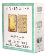 Fine Cheese Co. Fine English Gluten Free Water Crackers