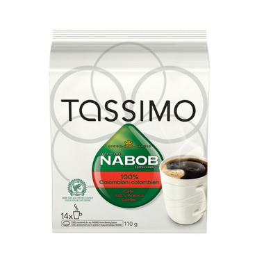 Tassimo Nabob 100% Colombian