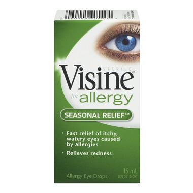 Visine Seasonal Relief Eye Drops