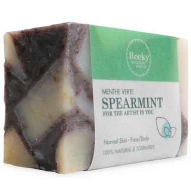 Rocky Mountain Soap Co. Spearmint Bar Soap