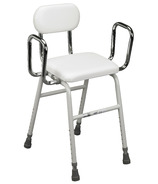 Drive Medical Kitchen Stool with Adjustable Arms