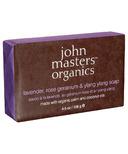 John Masters Organics Lavender, Rose Geranium & Ylang Ylang Soap