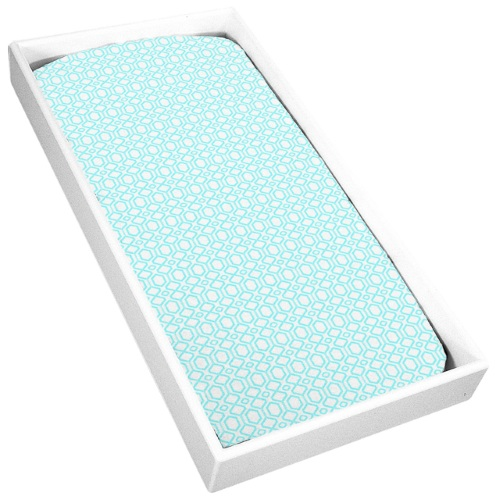 Buy Kushies Flannel Change Pad Fitted Sheet Octagon ...