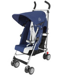 Maclaren Triumph Stroller Medieval Blue and Silver