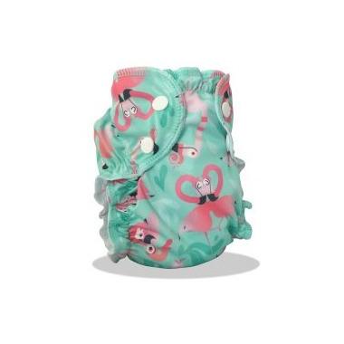 AppleCheeks Swim Diaper Flamingle