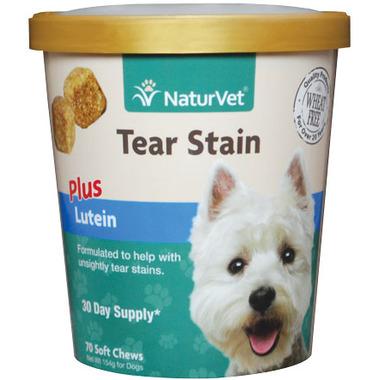 Naturvet Tear Stain Plus Lutein Soft Chews