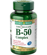 Nature's Bounty Time Release B-50 Complex