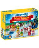 Playmobil 1.2.3 Advent Calendar Christmas on the Farm