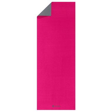 Gaiam Classic Reversible Yoga Mat Pink & Grey