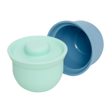 Wean Meister AdoraBowls Mint and Teal Blue