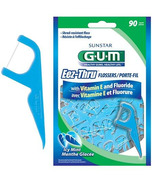 GUM Eez-Thru Flossers with Vitamin E and Fluoride
