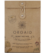 Orgaid Anti-Aging and Moisturizing Organic Sheet Masks