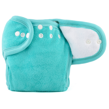 Motherease One Size Cloth Diaper Aqua