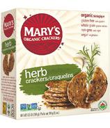 Mary's Organic Crackers Herb Crackers