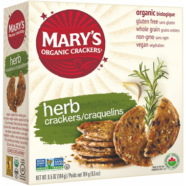 Mary\'s Organic Crackers Herb Crackers