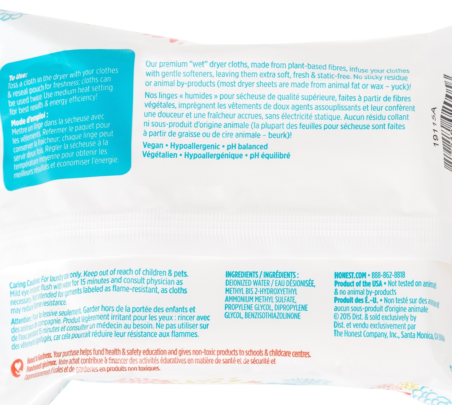 Buy The Honest Company Honest Dryer Cloths At Well Ca