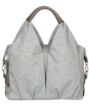 Lassig Green Label Neckline Allover Fleur Diaper Bag Choco Melange