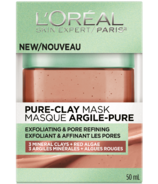 L'Oreal Exfoliating & Pore Refining Pure Clay Mask