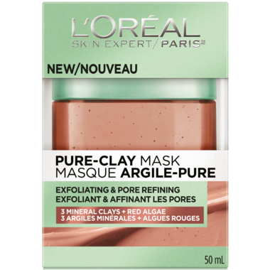 L\'Oreal Exfoliating & Pore Refining Pure Clay Mask