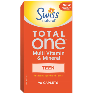 Swiss Natural Total One Multi Vitamin & Mineral Teen