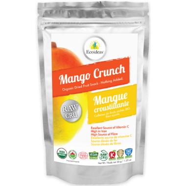 Ecoideas Organic Raw Mango Crunch