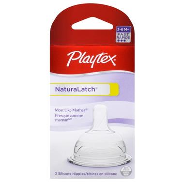 Playtex Naturalatch Latex Nipple -