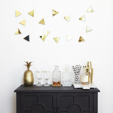 Umbra Confetti Triangles Wall Decor