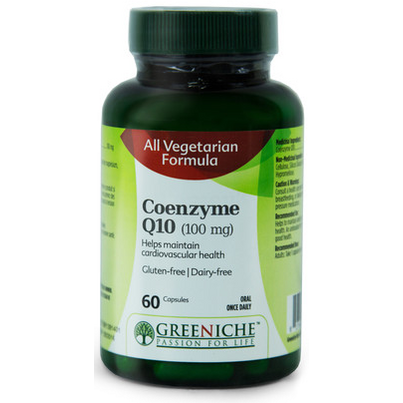 Buy Greeniche Coenzyme Q10 60 Capsules Online In Canada