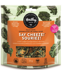 Healthy Crunch Kale Chips Say Cheeze!