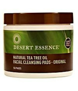 Desert Essence Natural Tea Tree Oil Facial Cleansing Pads