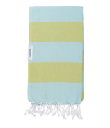 Lualoha Turkish Towel Buddhaful Light Mint & Lemon