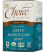 Choice Organic Teas Green Moroccan Mint Tea