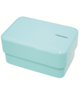 Takenaka Bento-Box Rectangle Light Blue Lunch Box