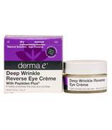 Derma E Deep Wrinkle Reverse Eye Creme with Peptides Plus