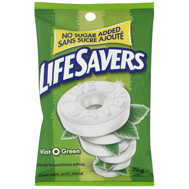 Life Savers Mints No Sugar Added Wint O Green