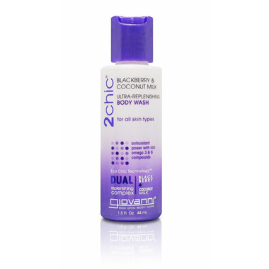 Giovanni 2Chic Ultra-Replenishing Body Wash Travel Size