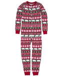 Hatley Kids Union Suit Berry X-Mas
