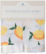 Little Unicorn Cotton Muslin Security Blanket Lemon